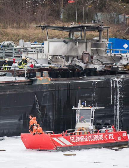 Deux morts dans l'explosion d'une citerne sur un chantier naval | Allemagne | Scoop.it