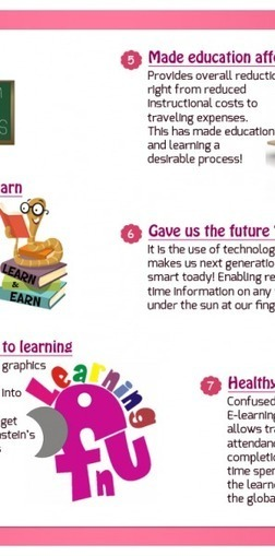 Why Be Grateful to E-learning? - e-Learning Infographics | about e-learning | Scoop.it