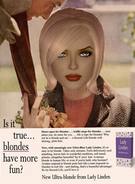 Another Retro Ad For Second Life | Virtual Identity | Scoop.it