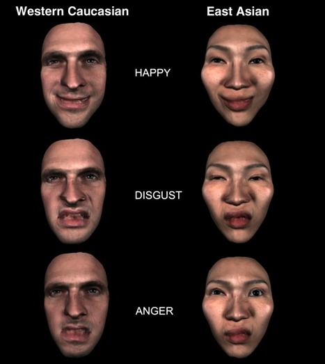 Face recognition of emotions depends on culture | Amazing Science | Scoop.it