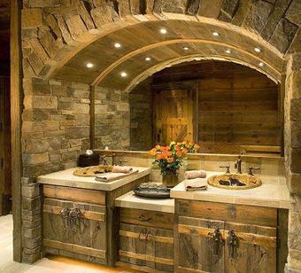 Modele salle de bain : idee decoration originale pour salle de bain ... | Salle de bains | Scoop.it