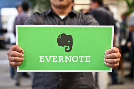 Evernote restreint les comptes gratuits à deux appareils, et augmente ses prix | Geeks | Scoop.it