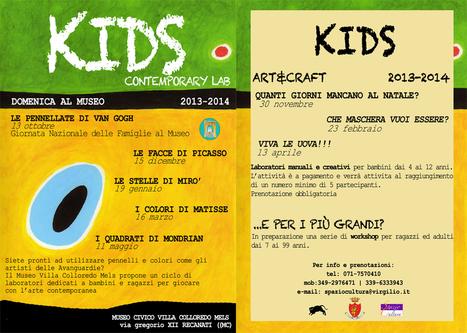 11 maggio: a Recanati Domenica al Museo con Kids Contemporary Art Lab. I quadrati di Mondrian | Marche for Family | Scoop.it