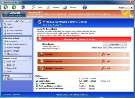 Windows Efficiency Kit - How to Remove - YooSecurity Removal Guides | Securebit Technologies Free Antivirus 3.3 | Scoop.it