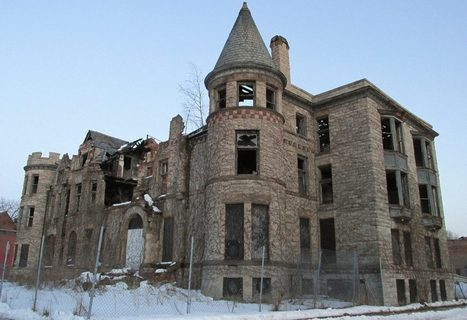 Ruined James Scott Mansion Targeted for 25-Condo Rehab | Detroit Rebuilding | Scoop.it