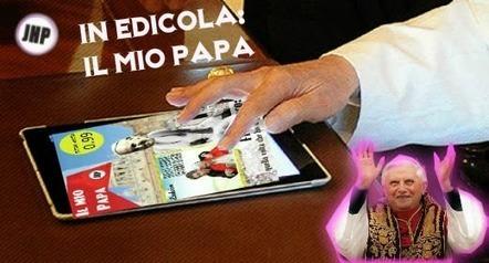 Il mio Papa: Benedetto da Benedetta! - JHP by Jimi Paradise™   GOSSIP, NEWS & SPORT!   Scoop.it