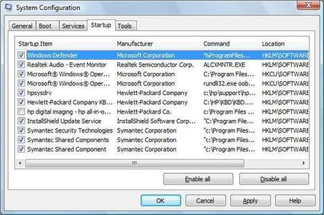 Improving System Performance without Adding Memory for HP Notebook PCs (Windows Vista) | HP® Support | CTecICT | Scoop.it