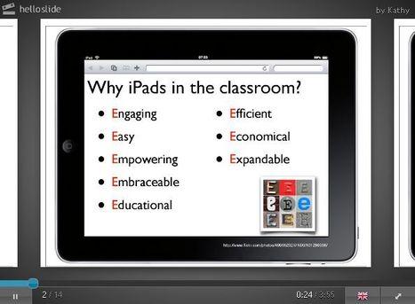 Hello Slide! – Add voice to presentations | iEduc | Scoop.it