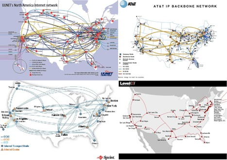 40 Maps That Explain The Internet | All about Visualization & Storytelling | Scoop.it
