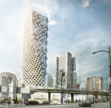 Urban Art: Vancouver's Mixed-Use Tower by Bjarke Ingels Group (BIG) | sustainable architecture | Scoop.it