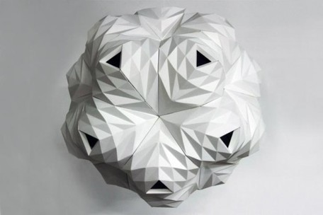 Lampe en papier | Lazerian | Paper is beautiful | Scoop.it