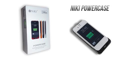 [TEST] – Coque avec batterie intégrée Niki Powercase pour iPhone 4/4S | WebZeen | Tests | WebZeen | Scoop.it