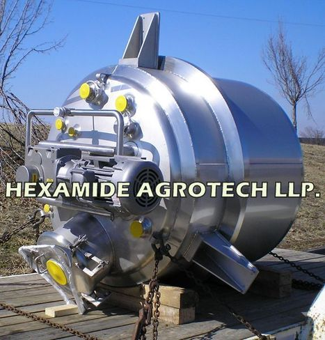 Reactor Manufacturer In India | Industrial Reactor India | Limpet Coil Reactor India | Jacketed Reactors – Hexamide Agrotech | SS 316 ,304 CHEMICAL REACTOR MFG INDIA | Scoop.it