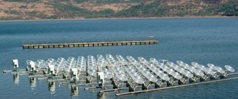 India Considers Large-Scale Floating Solar Power Projects | Technology and the Environment | Scoop.it