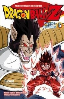 Manga - Dragon Ball Z, Les Saïyens : 1re partie, tome 5   Nouveautés du CDI   Scoop.it