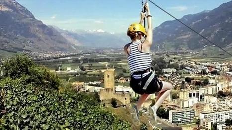Une tyrolienne géante sur la ville | Application mobile | Scoop.it