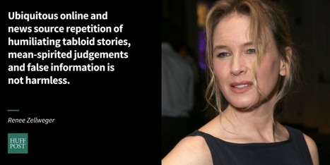 Renee Zellweger: We Can Do Better Than Low-Brow Tabloid Media | critical reasoning | Scoop.it