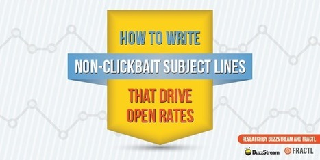 How to Write Subject Lines That Drive Open Rates | Inbound Marketing Transformation | Scoop.it