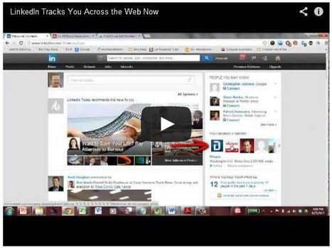 LinkedIn Now Tracks You Across The Web [And Flaunts It] - B2B Digital | #TheMarketingAutomationAlert | World Business | Scoop.it