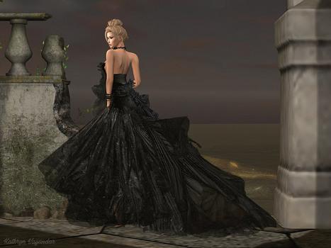 Better in a Black Dress   Second life women   Scoop.it
