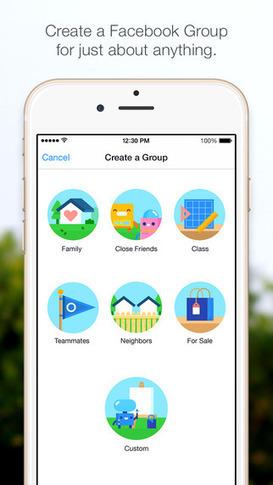 Facebook Releases New 'Facebook Groups' App for iPhone | IKT i Utbildning | Scoop.it