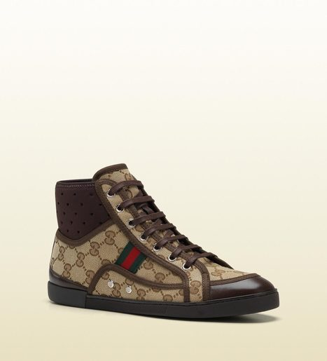 Gucci Womens Shoes Cannes High-Top Trainer Sneakers | Wedding shoes | Scoop.it