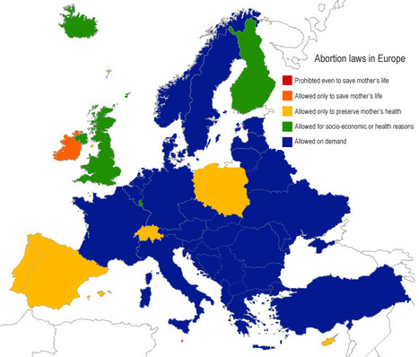 Europe Guide : Maps of Europe by language, religion, population density, hair & eye color, etc. | human geography | Scoop.it