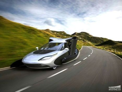 Dude, where's my flying car? It's being tested now. | Home Automation | Scoop.it