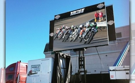 Jumbotrons Rolling to all AMA Pro Flat Track Rounds in 2016 Thanks to Partnership between Mobile View and AMA Pro Racing | California Flat Track Association (CFTA) | Scoop.it