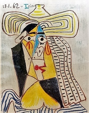 Womans portrait  -1962 by Pablo Picasso | 1962 - the year | Scoop.it