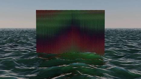 Nicolas Sassoon and Rick Silva meld optical art with moving digital images // #mediaart #netart | musée numérique | Scoop.it