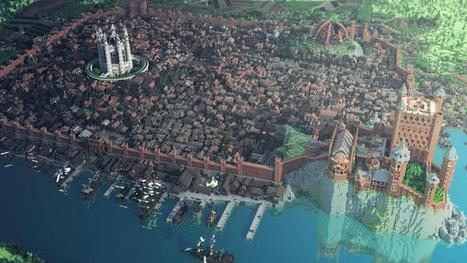 25 'Minecraft' Creations That Will Blow Your Flippin' Mind | MyEdu&PLN | Scoop.it