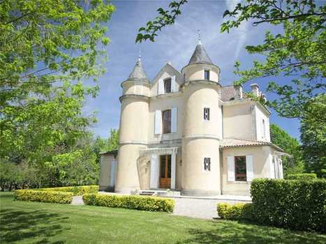 HOUSE OF THE DAY: Buy A Manor In Southwest France For Under $1 Million | European Finance & Economy | Scoop.it