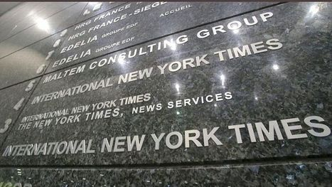 L'International Herald Tribune devient L'International New York Times le 15 octobre | Communication-Médias-Publicité | Scoop.it