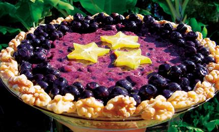 Raw Blueberry Cream Pie | Vegetarian and Vegan | Scoop.it