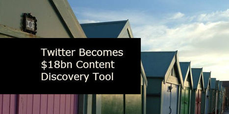 Twitter Becomes An $18bn Content Discovery Tool - Implications For Marketers - Anders Pink | B2B Marketing | B2B Marketing | Scoop.it