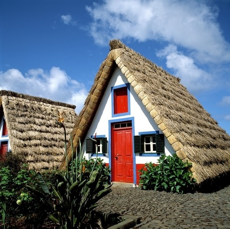 Santana Typical Houses in Madeira | Madeira Island | Scoop.it