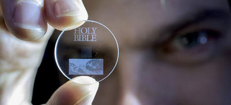 Optical Data Storage Squeezes 360TB on to a Quartz Disc—Forever | Cool New Tech | Scoop.it