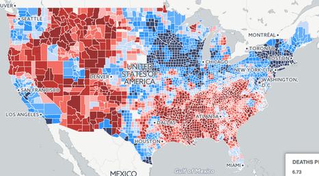 U.S. gun deaths, 2004-2010 | Policies 2.0 | Scoop.it