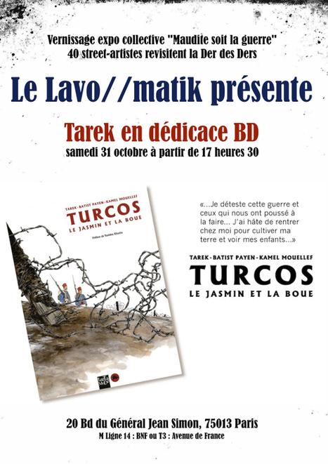 Tarek dédicace Turcos au Lavomatik | Graphisme - Illustration | Scoop.it
