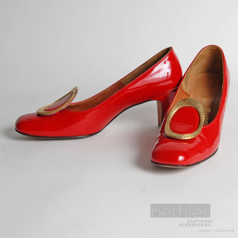Red Patent Leather Pumps   Retro-Rustic-Reclaimed Finds   Scoop.it