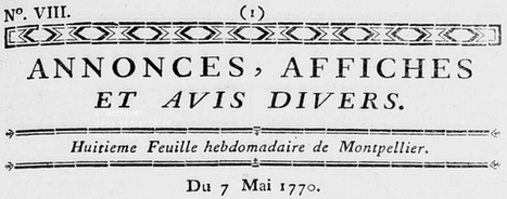 Une épidémie en Languedoc, 1770 via Maiores Nostri | GenealoNet | Scoop.it