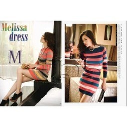 Jual Dress bahan rajut dengan banyak pilihan warna yang unik. | trend fashion 2013 | Scoop.it