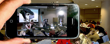 How to Transform Your Classroom With Augmented Reality (EdSurge News) | Un noeud dans le mouchoir des médias sociaux | Scoop.it