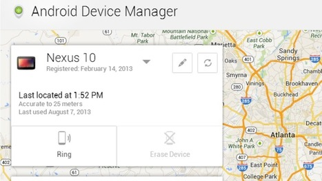 Google's Android Device Manager Finds and Wipes Your Lost Phone | Android: The Free Way To Get Mobile | Scoop.it