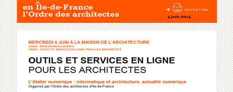 MEMO EVENEMENT ARCHITECTURE PARIS/ JOUR J | L'expert-comptable des architectes : veille juridique et sectorielle | Scoop.it