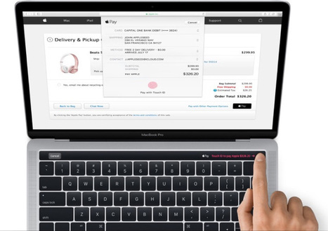 This is the new MacBook Pro with the Magic Toolbar minidisplay | Future of Cloud Computing and IoT | Scoop.it