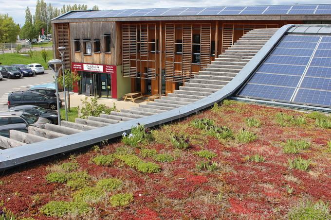 Un supermarché bio à basse consommation d'énergie soutenu par la finance solidaire