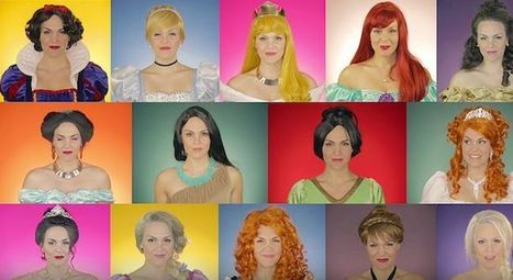 Watch One Woman Sing Through The Evolution Of All 14 Disney Princesses In One Enchanting Video | Poetry for inspiration | Scoop.it