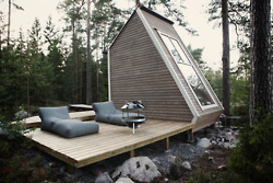 Micro Cabin in Finland | Design Milk... | Shiny Objects | Scoop.it